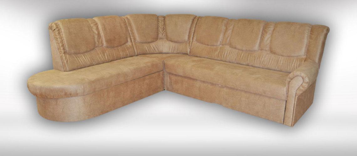 Kožená rohová sedačka Ambert od slovenského výrobcu