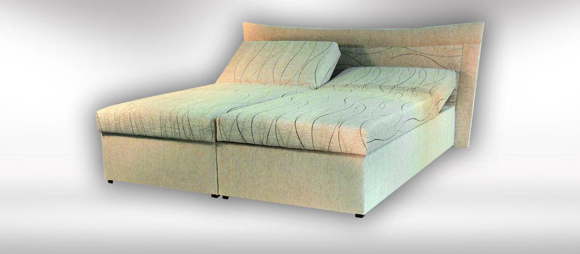 Manželská posteľ Julia od slovenského výrobcu