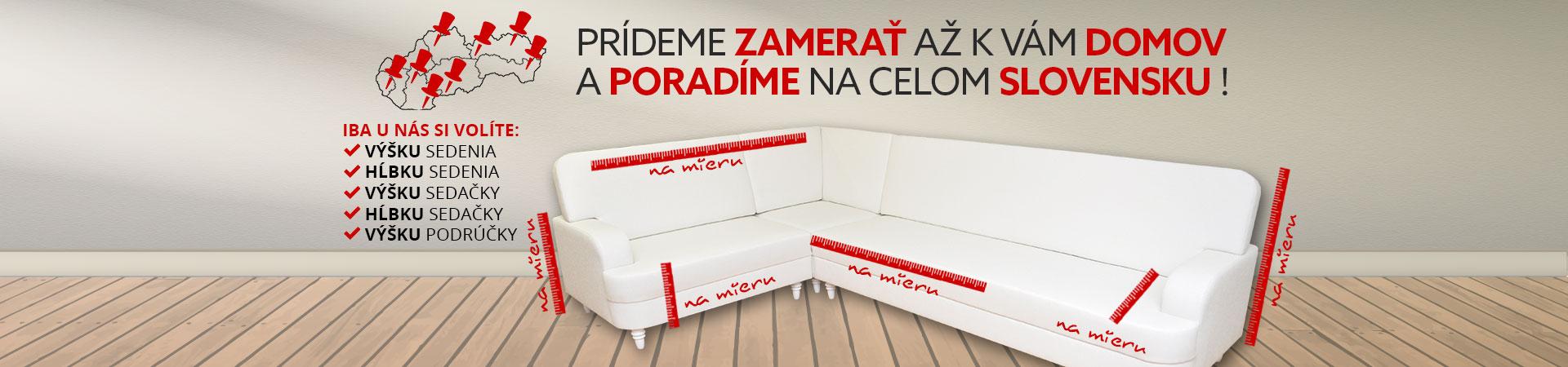 slovenský výrobca sedačiek na mieru