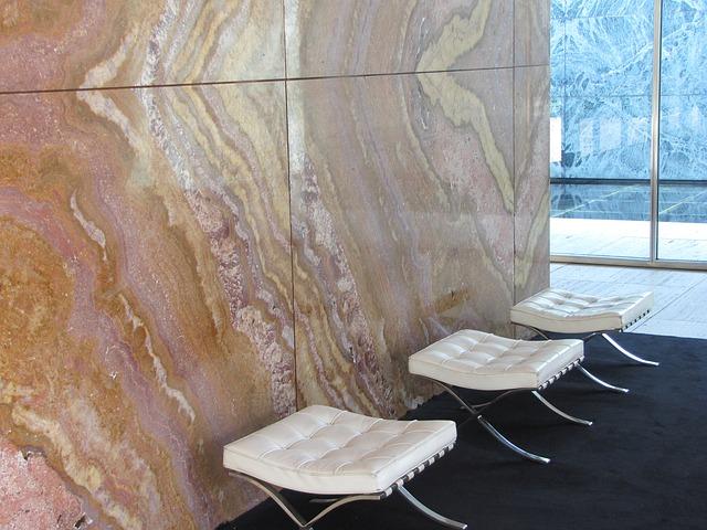 Prírodný kameň: Ohromujúci interiérový dizajn