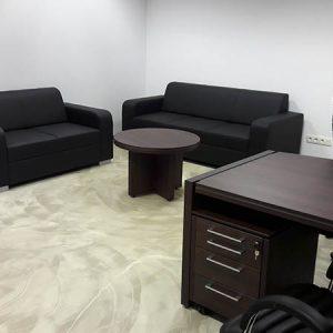 Čalúnený nábytok do kancelárie