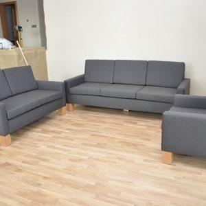 Pekné bývanie s moderným sedacím nábytkom