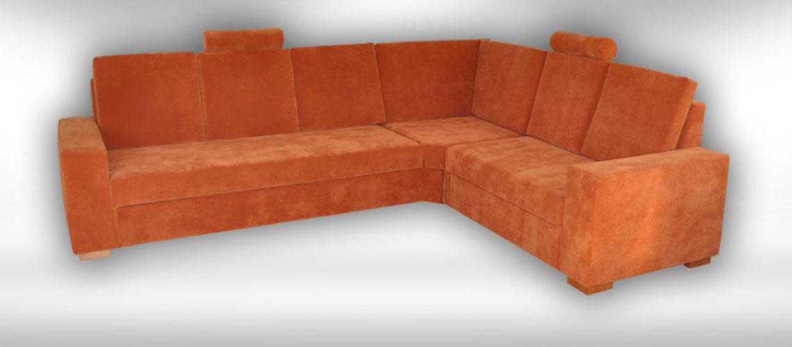 Rohová sedačka na mieru Agen od slovenského výrobcu