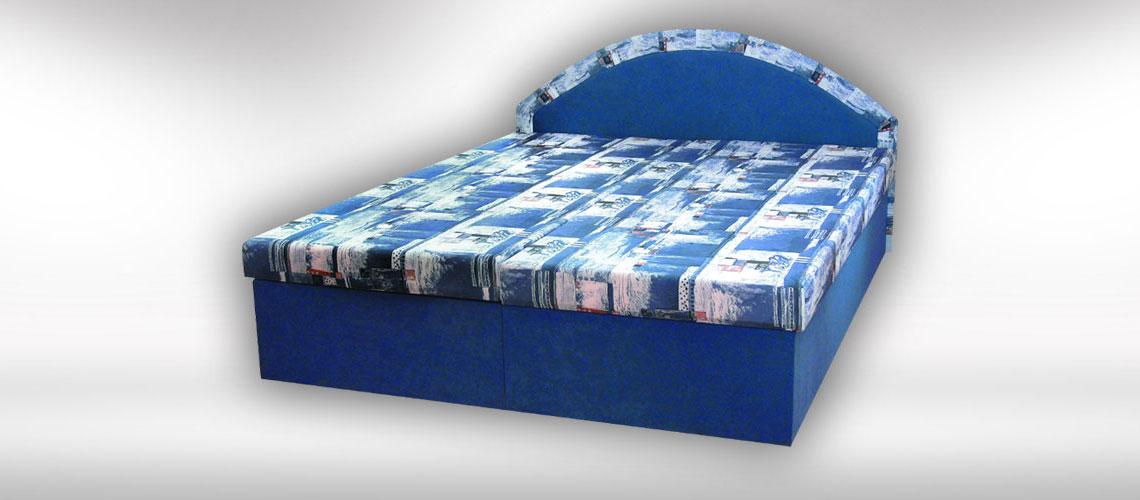 Slovenská posteľ Jana s úložným priestorom