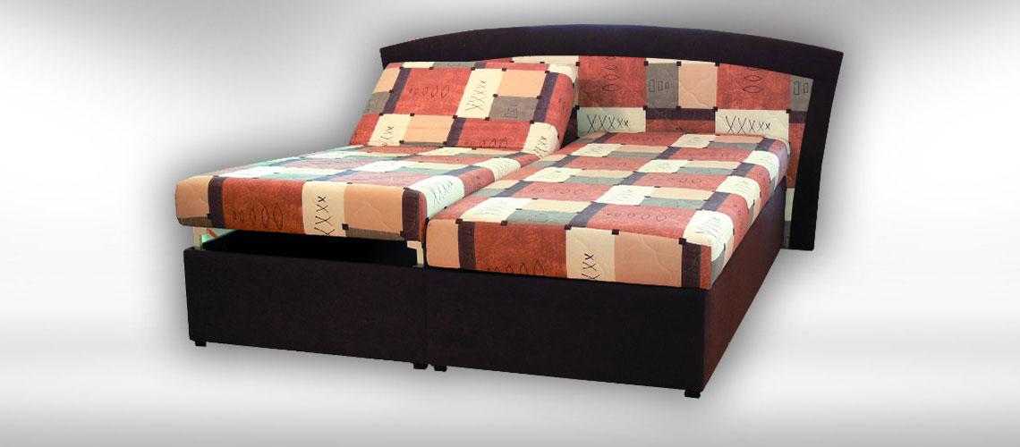 Polohovateľná posteľ Katarina