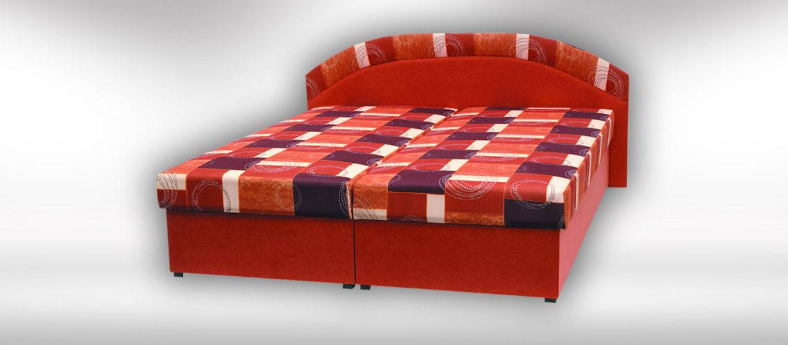 Slovenská posteľ Kornelia s úložným priestorom