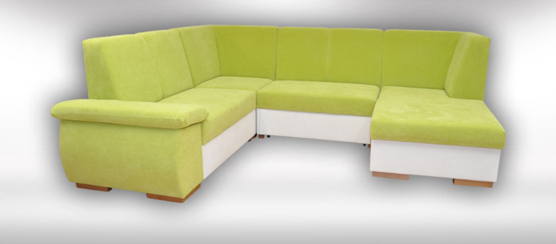 Slovenská sedačka v tvare U Palermo