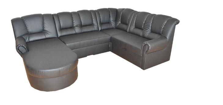 fb33856d97 Kožená sedačka v tvare U Begard od slovenského výrobcu ...