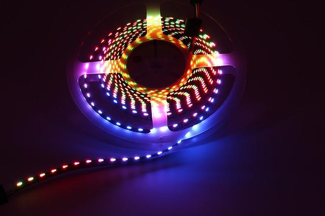 LED osvetlenie kuchyne podľa nálady